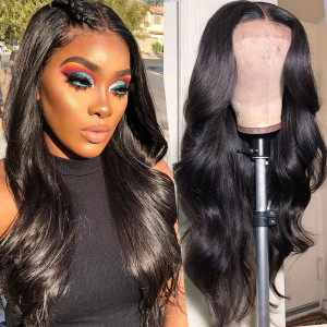 Newa Hair 150 density Pre Plucked Brazilian Body Wave Full Lace Human Hair Wigs With Baby Hair (042)