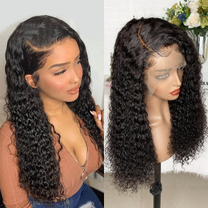 Newa Hair 130 Density Pre Plucked Brazilian Full Lace Human Hair Wigs For African Americans Women (Y12)