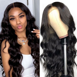 Newa Hair 150 Density Brazilian 360 Lace Frontal Wig Body Wave (w82)