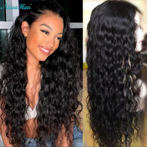 Newa Hair 150% Density Brazilian Hair Wavy 360 Lace Frontal Wigs (Y119)