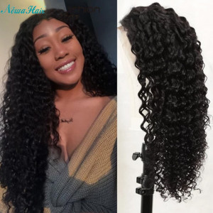 Newa Hair 130% Density Brazilian Hair Wavy Full Lace Wigs (Y120)
