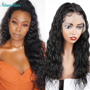 Newa Hair 150% Density Silk Base Brazilian Wave Hair 13x6 Lace Front Wigs (Y135)
