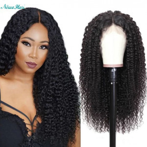 Newa Hair 360 Lace Frontal Human Hair Wig Brazilian Hair 150% Density Water wave (y33)