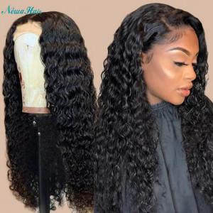 Newa Hair 360 Lace Frontal Human Hair Wig Brazilian Hair Curly 180% Density (Y51)