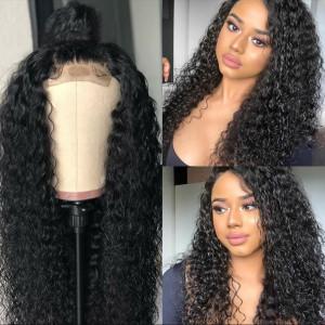 Newa Hair 150% Density Brazilian Hair Curly Hair Full Lace Human Hair Wigs (Y56)
