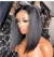 Newa Hair 2019 New Brazilian Straight 370 Lace Human Hair Bob Wigs 150 Density (W166)